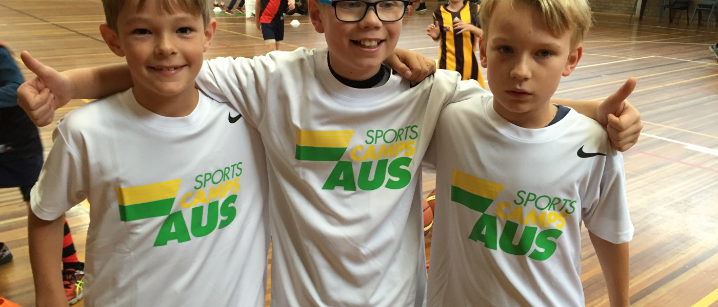 SPORTS CAMPS AUSTRALIA (SCA) & KIDZPHYZ CELEBRATE FIRST CAMP SERIES TOGETHER
