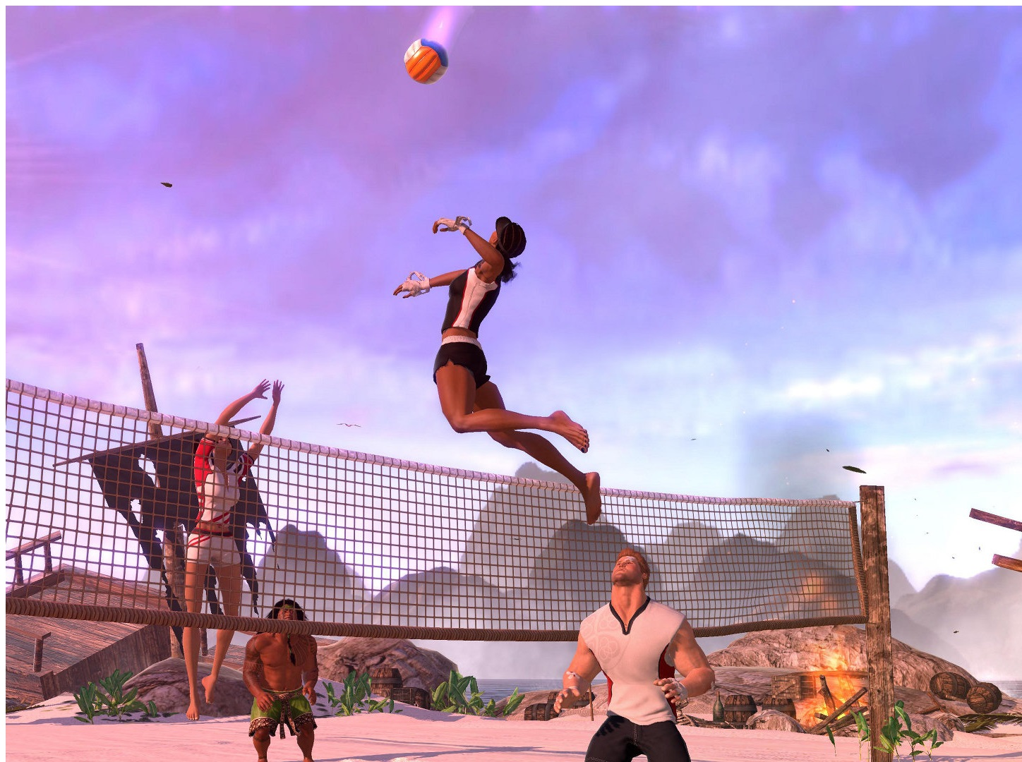 bach-volley ball