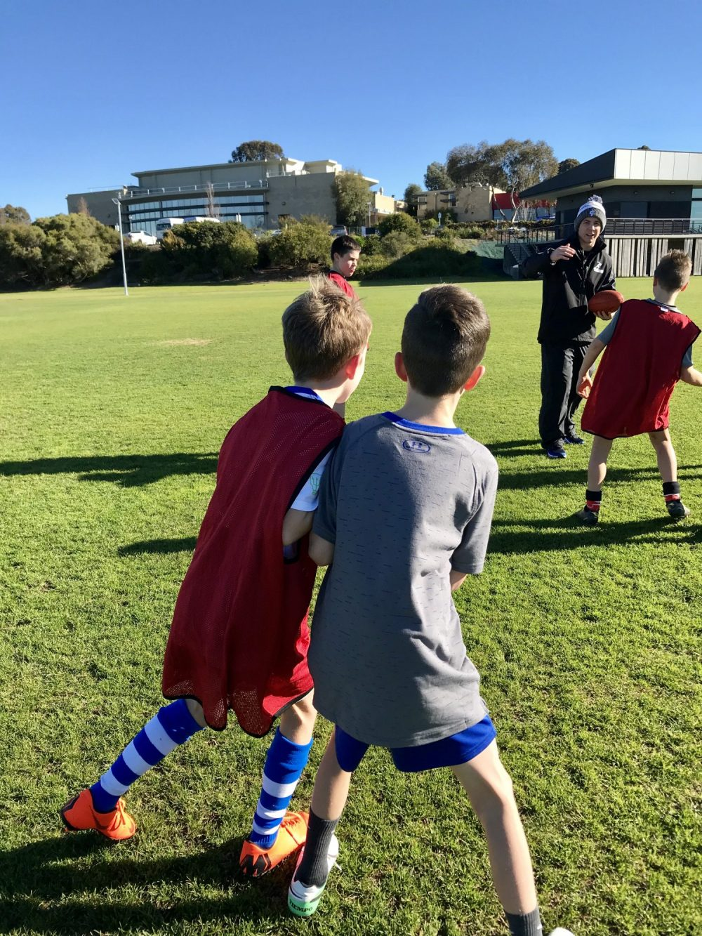 How to keep your kids fit during school holidays? Why not try a school holiday sports camp program.
