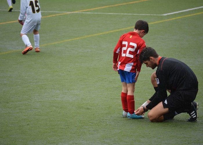 Tips for preventing sports injuries in child athletes